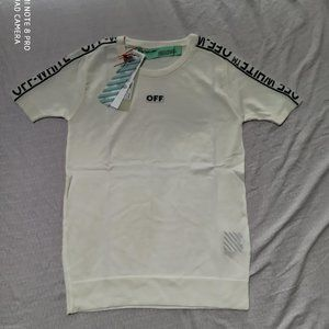 women's off-white tshirt tee